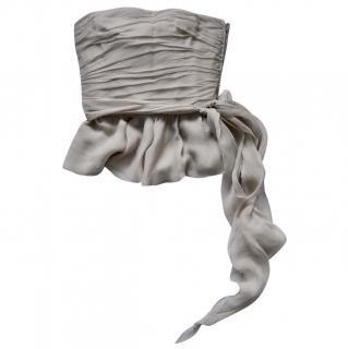 Ralph Lauren Collection sleeveless silk top