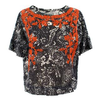 Isabel Marant Embroidered Top
