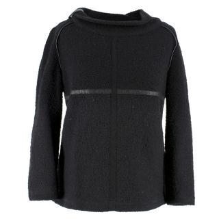Isabel Marant Black Wool Jumper