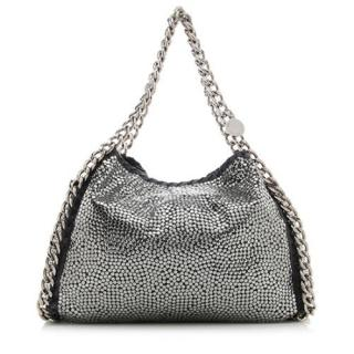 Stella McCartney Black Falabella Studded Tote