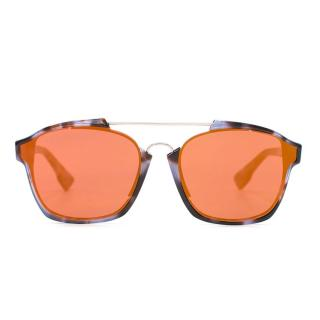 Dior Mirrored Abstract Sunglasses