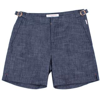 Orlebar Brown + Gerry McGrovern Men's Blue Swim Shorts