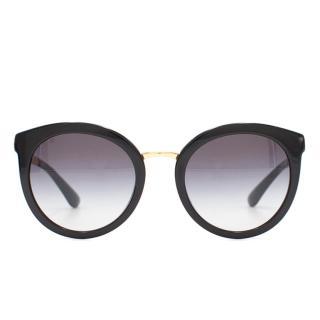 Dolce & Gabbana Black & Gold Sunglasses