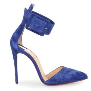 Christian Louboutin Atlantic Blue Harler Pumps
