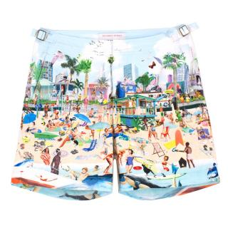 Orlebar Brown Printed Men's Swim Shorts