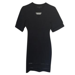 Alexander Wang fitted black dress