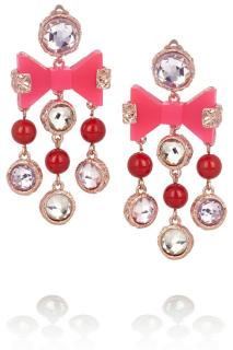 Marc Jacobs crystal earrings