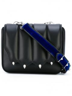 Marco de Vincenzo black leather paw bag