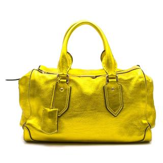 Burberry Bold Metallic Leather Bag
