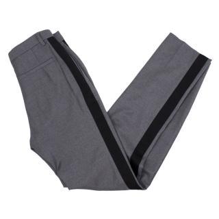 Balenciaga Strip Tailored Trouser
