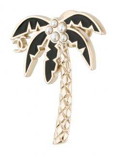 Chanel Cruise Collection Palm Tree Brooch