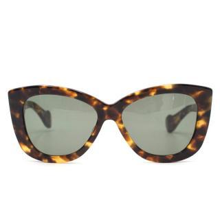Dita Versoul Tortoise Shell Sunglasses