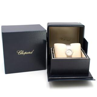 Chopard White Gold 0.95CT Diamond Watch