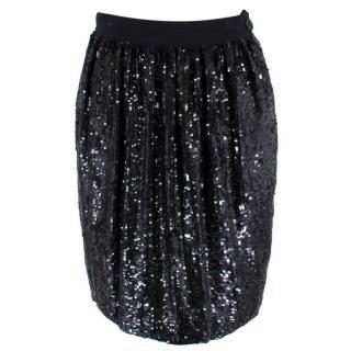 Ashish Sequinned Silk Skirt