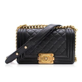Chanel Small Lambskin Boy Bag