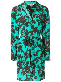 Diane Von Furstenberg floral print shirt dress