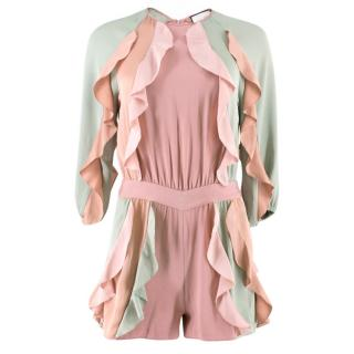 Alexis Pastel Ruffled Playsuit