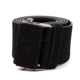 Prada Velvet Belt