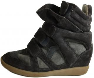 Isabel Marant Bekett Brown Sneakers