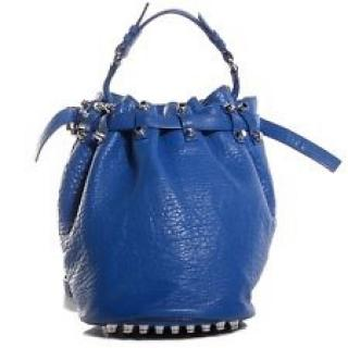 Alexander Wang Diego Textured Leather Shoulder Bag