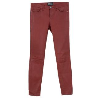 Current Elliott Leather Trousers