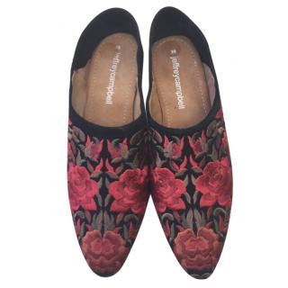 Jeffrey Campbell embroidered shoes