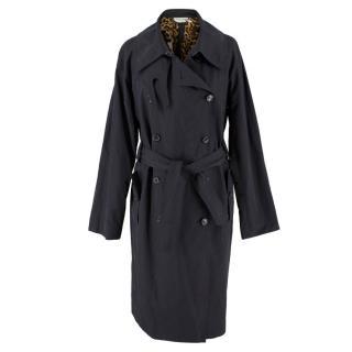 Yves Saint Laurent Black Rain Jacket