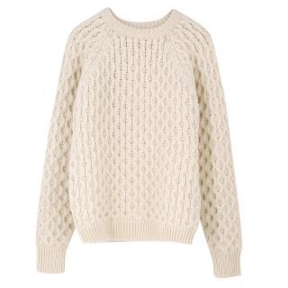 Isabel Marant Argyle Wool Sweater