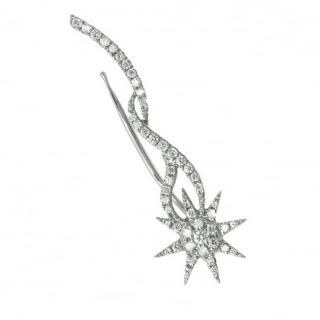 Djula White Gold and 0.39ct Diamond Single earring