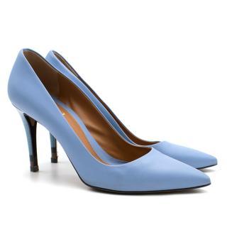Fendi Blue Pointed Toe Pumps