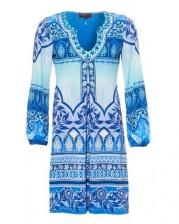 Hale Bob Raiyana Beaded Jersey Dress