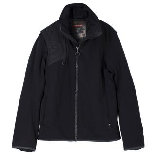 Prada Black Zip-up Lightweight Jacket
