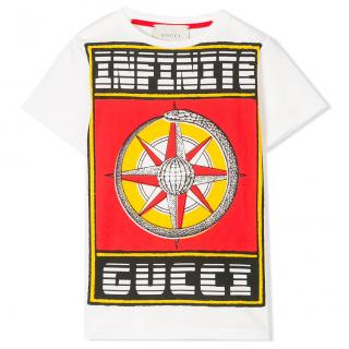 Gucci boy's 'infinite' printed top