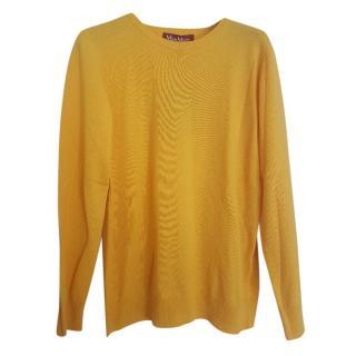 Max Mara knit yellow jumper