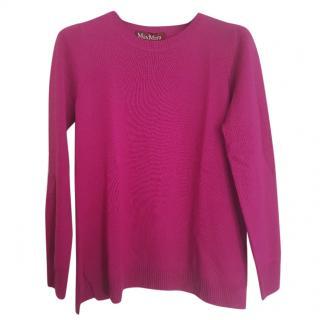 Max Mara knit pink jumper