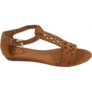Ash tan leather sandals