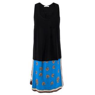 Givenchy Knit Silk-Blend Dress