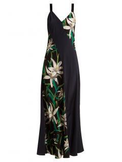 Diane Von Furstenberg Floral Printed Maxi Dress