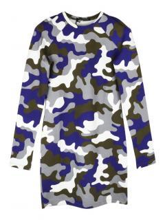 Christopher Kane camouflage bodycon mini dress