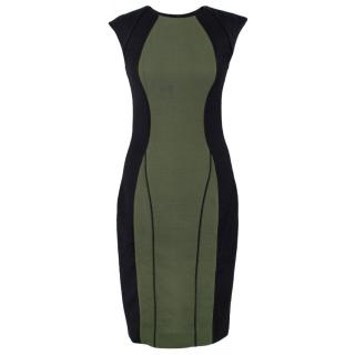 Jason Wu Illusion Wool Dress