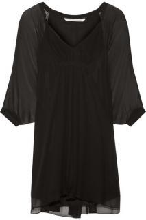 DVF Fleurette Silk Mini Dress