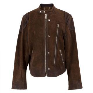 Golden Goose Brown Biker Jacket