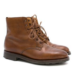 Holland & Holland Tan Boots