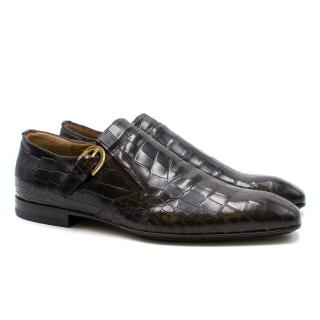 Paciotti Brown Leather Loafers
