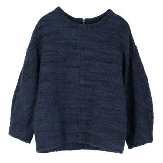 Isabel Marant Blue Wool Jumper