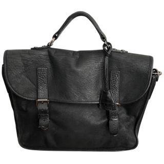 Mulberry black messenger bag