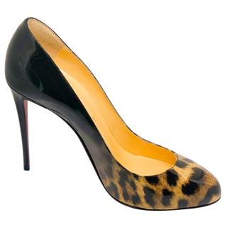 Christian Louboutin Merci Allen 100 Leopard Degrade Pumps