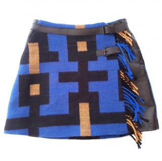 JC DE CASTELBAJAC Wool Skirt