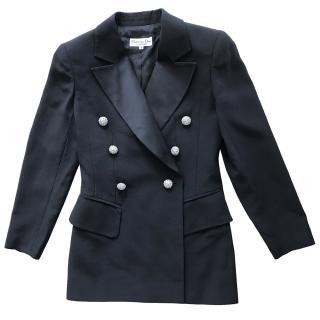 Dior Vintage Double Breasted Black Blazer