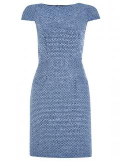 Tabitha Webb Adriana Blue shift dress